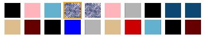 トータルモーションパンプスの全色カラー